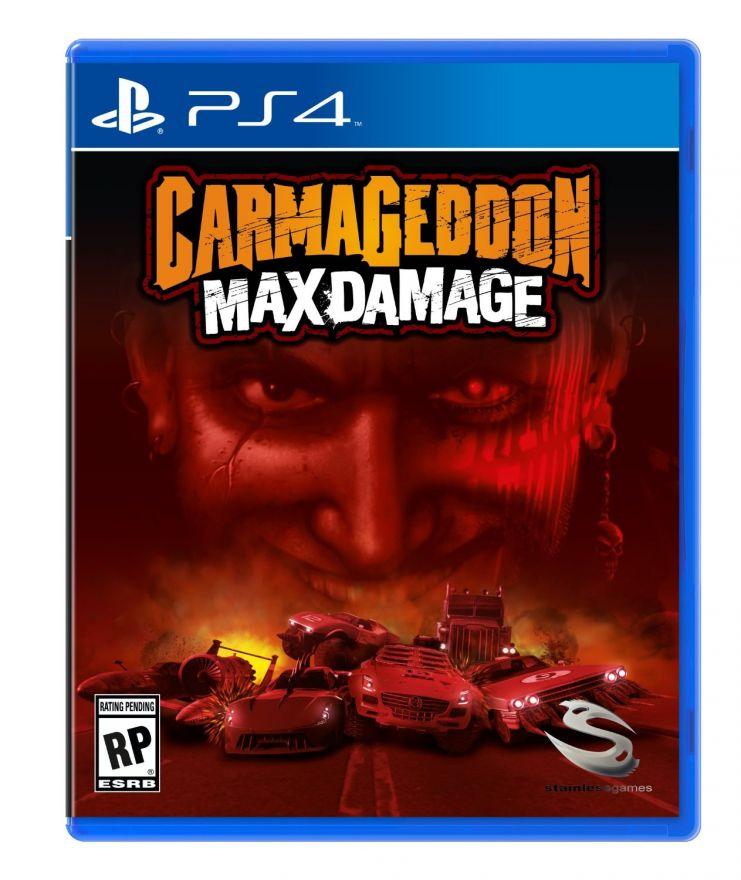 Игра Carmageddon Max Damage (PS4)