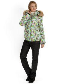 """Куртка 2в1 зимн. """"Монако"""" орхидеи для беременных"""