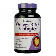 Natrol Omega 3-6-9 Complex (60 капс.)