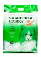 """Сибирская кошка """"Элита"""" Впитывающий силикагелевый наполнитель (зеленый) (24 л)"""