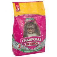 """Сибирская кошка """"Комфорт"""" Впитывающий наполнитель (3 л)"""