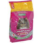 """Сибирская кошка """"Комфорт"""" Впитывающий наполнитель (5 л)"""