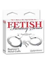 Наручники металлические Pipedream Beginners Cuffs
