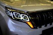 Передняя альтернативная оптика  (Тип 2) для Toyota Land Cruiser Prado 2013-