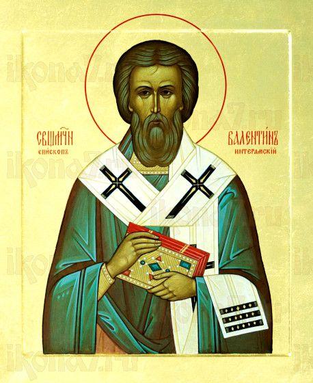 Валентин Интерамский (рукописная икона)
