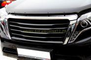 Дефлектор капота (мухобойка) для Toyota Land Cruiser Prado 150 2013