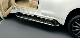 Аэродинамические пороги выдвижные для Toyota Land Cruiser Prado 150 -