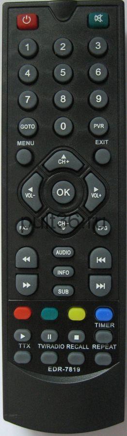 Пульт ДУ DVB-T2 Elect EDR-7819 пр-ль КНР