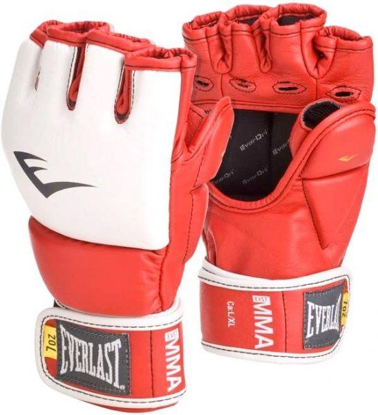 Перчатки тренировочные Everlast  MMA Grappling LXL красн., артикул 7684RLXLU