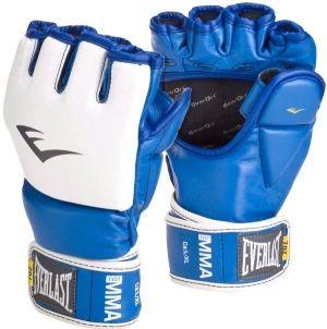 Перчатки тренировочные Everlast  MMA Grappling LXL синие, артикул 7684BLLXLU