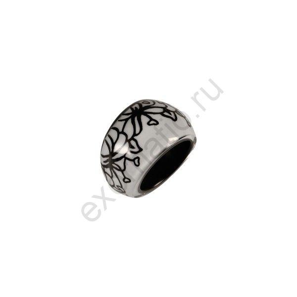 Кольцо FLORETTE белое