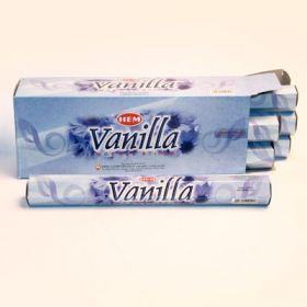 благовония HEM Hexa VANILLA ваниль (ароматические палочки)