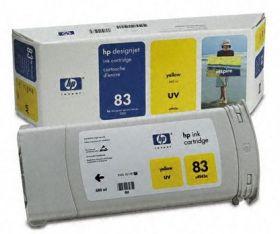 C4943A  Картридж  оригинальный  Hewlett-Packard 83 Yellow (680 ml)