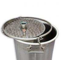 Крышка пивоваренного (сусловарочного) котла 37л для дистилляции, серия ХД/3