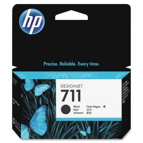 CZ133A  Картридж  оригинальный  HP 711 с черными чернилами 80мл