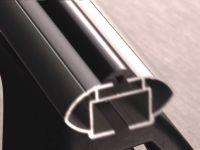 Багажник на крышу Mazda CX-9, Lux, аэродинамические  дуги (53 мм)