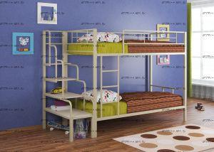 Кровать двухъярусная Севилья-2 с лестницей ФМ