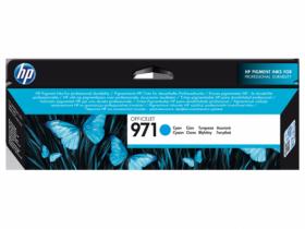 CN622AE  Картридж  оригинальный  HP 971 Officejet голубой (2500 к)