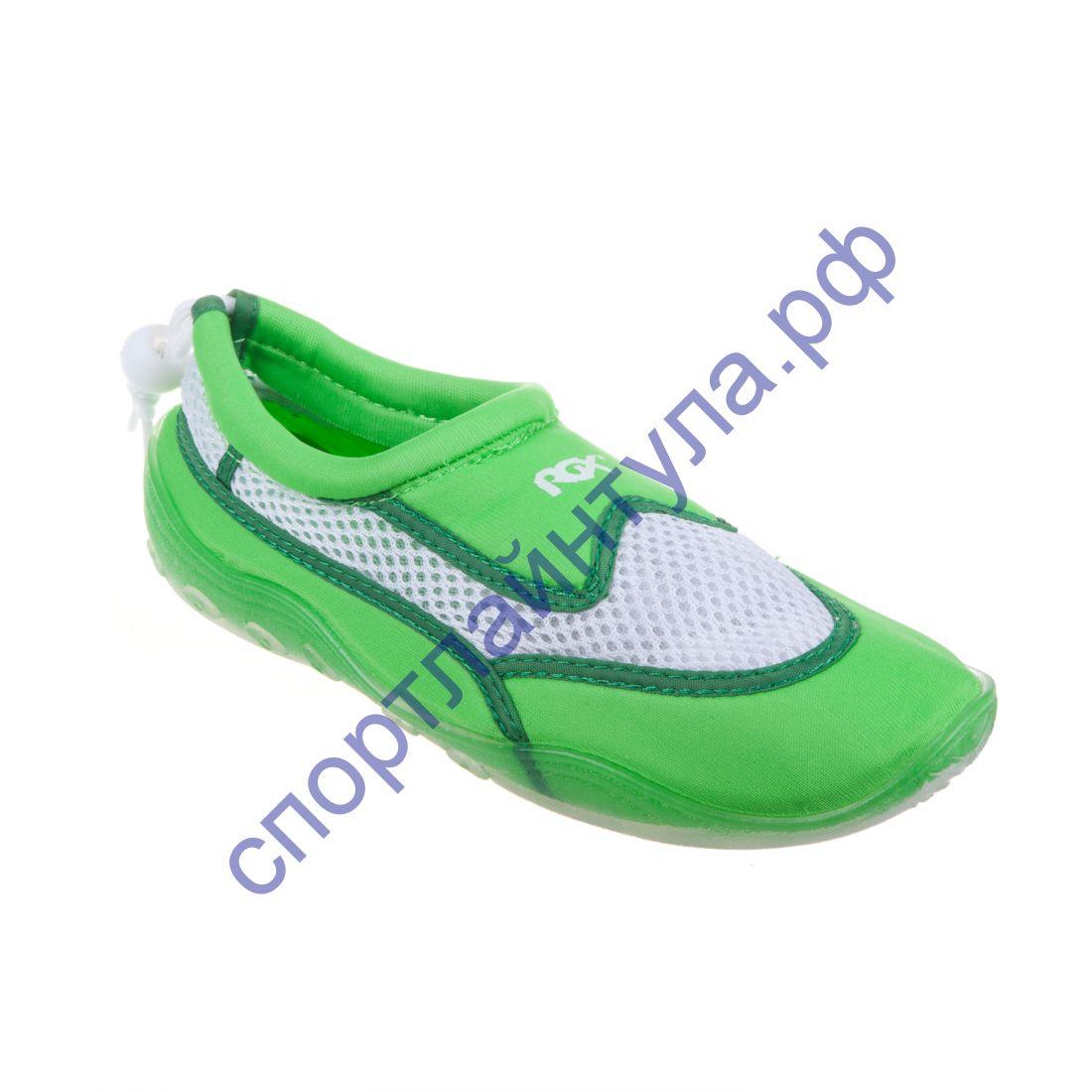 Коралловые тапочки RGX KR8 зеленые