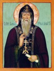 Варлаам Хутынский (рукописная икона)