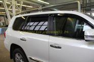 Молдинги окон (Тип 5) для Toyota Land Cruiser 200  -