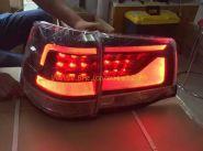 Задняя  альтернативная оптика диодная (Затемненная) для Toyota Land Cruiser 200 2015 -