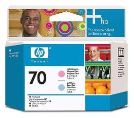 C9405A  Печатающая головка оригинальная   HP 70 Light Magenta + Light Cyan printhead