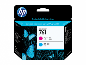 CH646A  Печатающая головка  оригинальная  HP 761 Designjet (пурпурный/голубой)