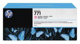 B6Y35A  Тройная упаковка картриджей  оригинальных  со светло-пурпурными чернилами  HP №771 775мл
