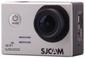 Экшн-камера SJCAM SJ5000 WiFi (серебристый)