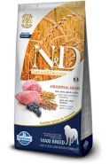 N&D Dog Low Grain Lamb & Blueberry Maxi Adult Низкозерновой корм для взрослых собак крупных пород Ягненок/черника (12 кг)