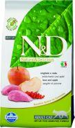 N&D Cat Grain Free Boar & Apple Adult Беззерновой корм для взрослых кошек, кабан/яблоко (1,5 кг)