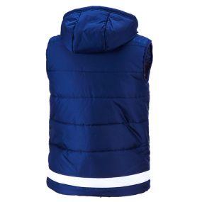 Жилет adidas Tiro 15 Padded Vest тёмно-синий утеплённый