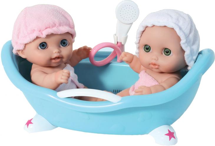 Пупсы в ванной Twins