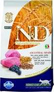N&D Cat Low Grain Lamb & Blueberry Низкозерновой корм для взрослых кошек, ягненок/черника (5 кг)