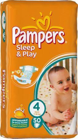 Подгузники sleep & play Pampers ( 7-18кг) , 58шт