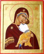 Ярославская икона БМ (рукописная на заказ)