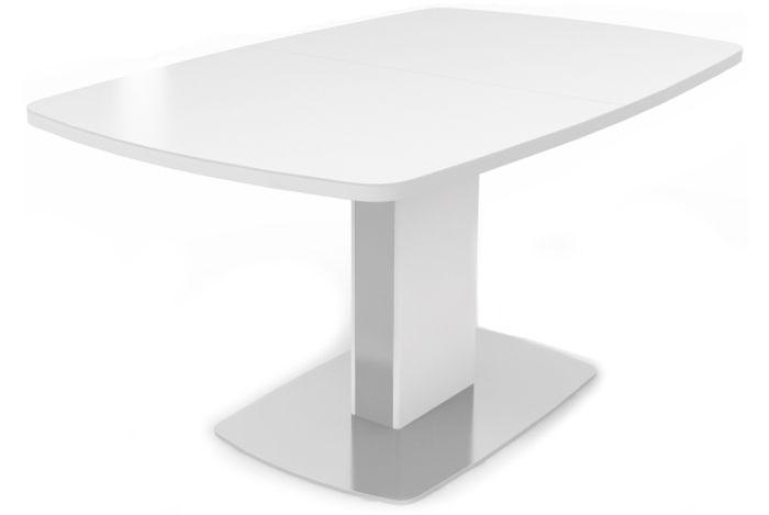 Раскладной стеклянный стол DOUGLAS 130