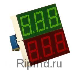 Ампер-вольтметр-ваттметр постоянного тока ВАВПТ2-056-v 100В 20А