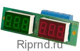 Ампер-вольтметр-ваттметр постоянного тока ВАВПТ2-036-h 100В 20А