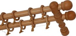 Карниз деревянный ДК 21 сосна