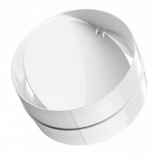 Соединитель круглых каналов с обратным клапаном d=125мм 2121