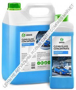 Очиститель стекол «Clean Glass Concentrate» GRASS
