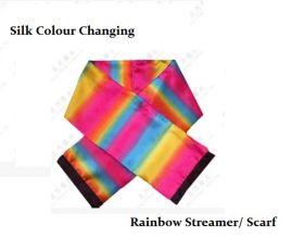 Стример изменяет цвет Silk Colour Changing Rainbow Streamer (120 см*18см)