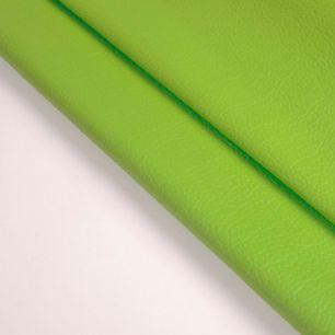 Кожзам для кукольных ботиночек - Сочный зеленый, 25*20 см