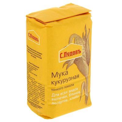 ПУДОВ Мука кукурузная 450 г