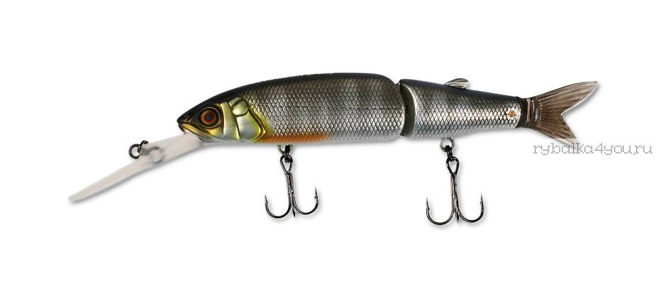 Купить Воблер Jackall Magallon Diving 113 мм / 15,2гр суспендер цвет: shibu silver oikawa