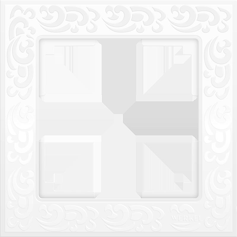 Рамка 1п WL05-Frame-01(белый)
