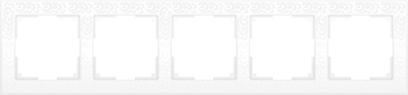 Рамка 5п WL05-Frame-05(белый)