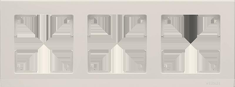 Рамка WERKEL 3п.сл.к. WL04-Frame-03